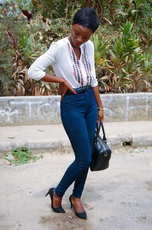 high-waist-denim-white-blouse-black-stilletos-pixie-cut-4.jpg