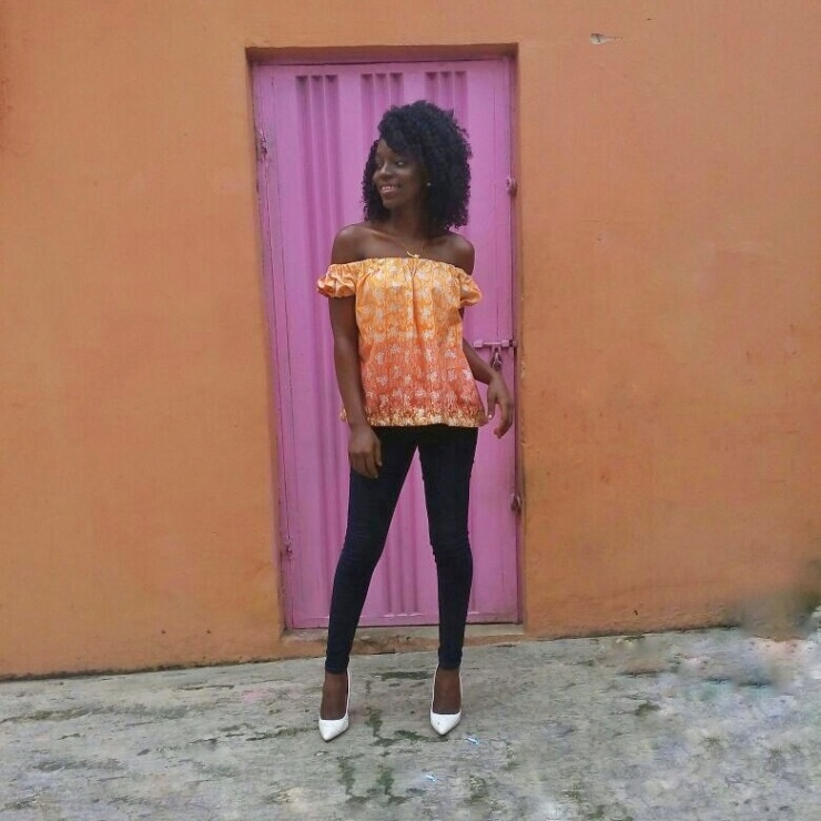 how-to-style-ankara-off-shoulder-top